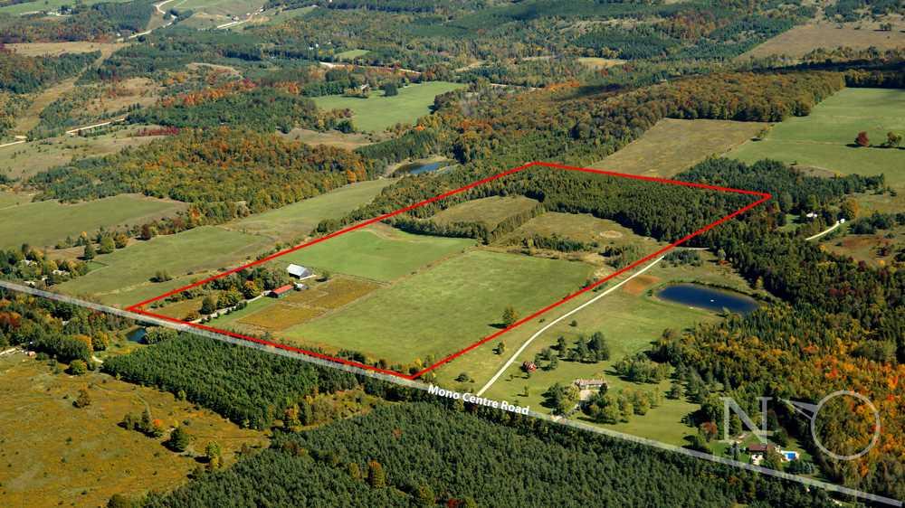 **SOLD** 754387 Mono Centre Road Mono / Orangeville 60 Acres Farm Bungalow W/ Heated Workshop Real Estate MLS Listing